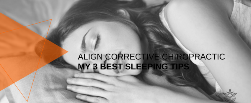 Durban Chiropractor Sleeping tips.