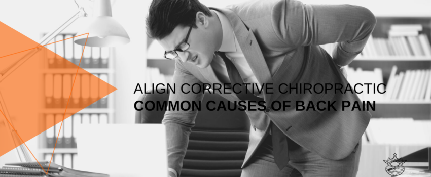 Durban Chiro - Common causes of back pain