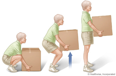 Durban North Chiro -Common cause of back pain - Incorrect Lifting.