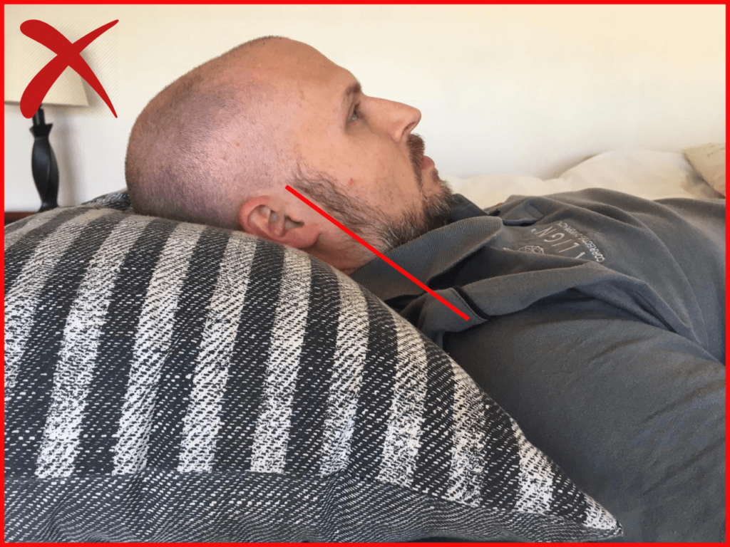 Wrong Sleeping Position - Chiro Durban